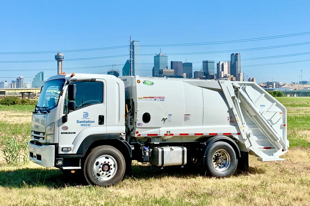 rearload waste truck sales