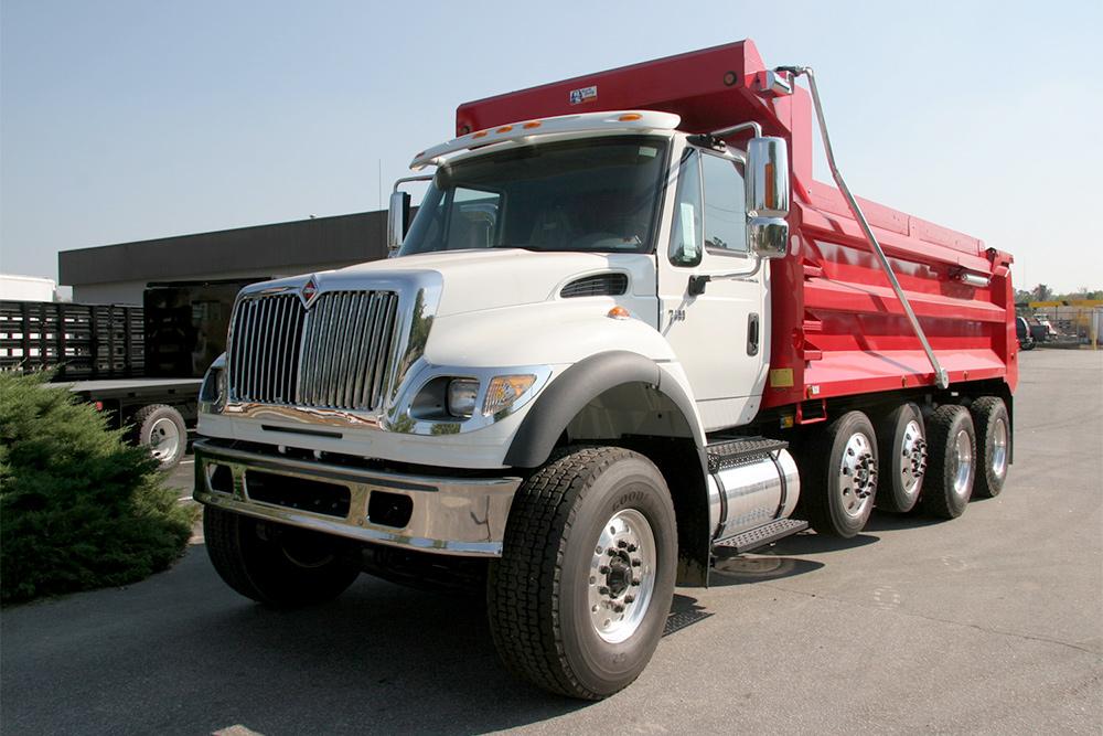rolloff truck sales dallas